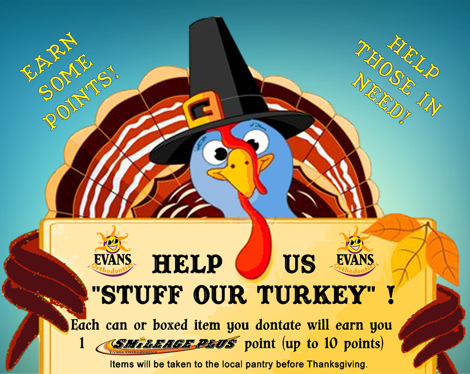 Stuff our turkey poster
